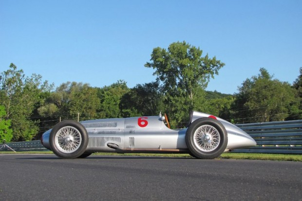 Mercedes-Benz W154 at Lime Rock