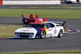 Michael and Sean McInerney 1st in GT2 with BMW M1. Photo: Simon Wright