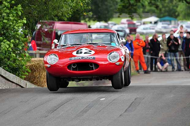 Mike Wilkinson shows his Jaguar E-Type is really a lightweight