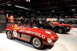 Ferrari 250 Monza Scaglietti Spider, Ferrari 250 GTO and the Alfa Romeo 6C 3000CM