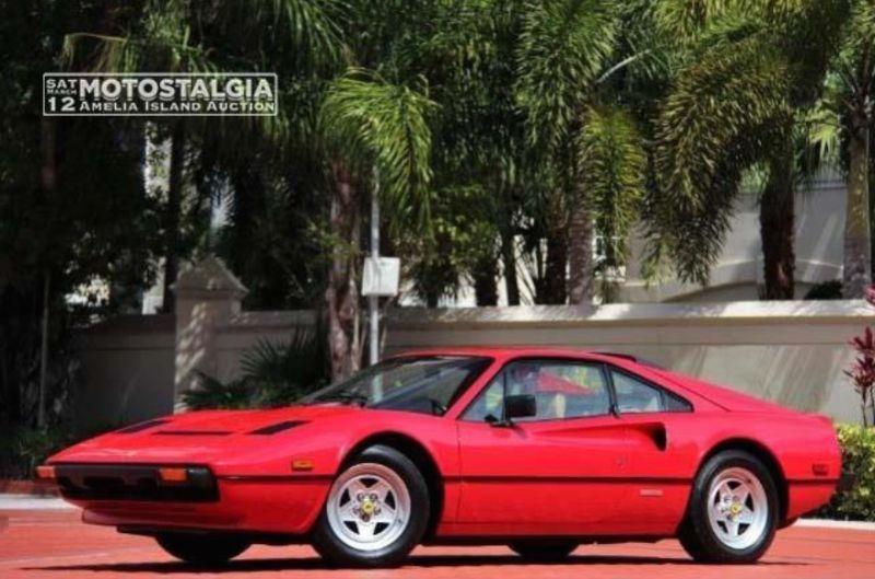 1980 Ferrari 308 GTB Coupe, Body by Pininfarina