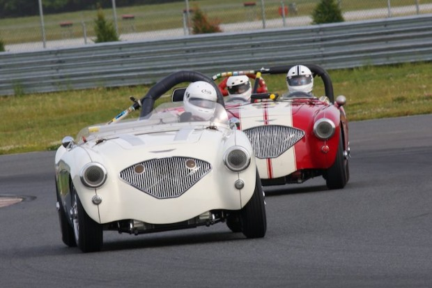 Pair of Austin-Healey 100/4