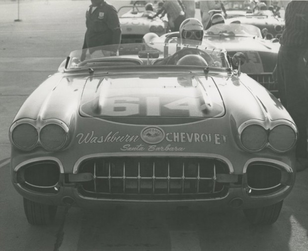 Corvette grid, Santa Barbara 1961.