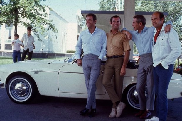 1968, Robert Wagner, Bob Bondurant, Paul Newman