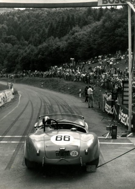 1964 Freiburg Schauinsland hill climb, Bondurant, Shelby Cobra FIA