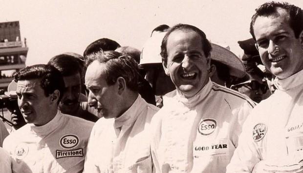 Jimmy Clark, John Surtees, Denny Holmes, Bob Bondurant