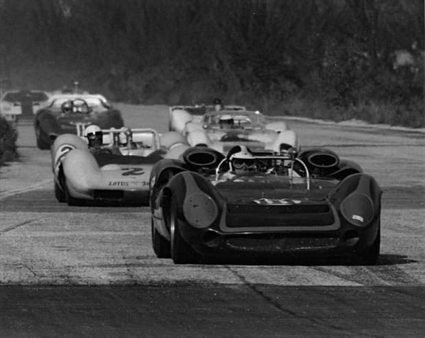 Bob Bondurant, 1965 Nassau Trophy Race, Lola T70 Chevrolet