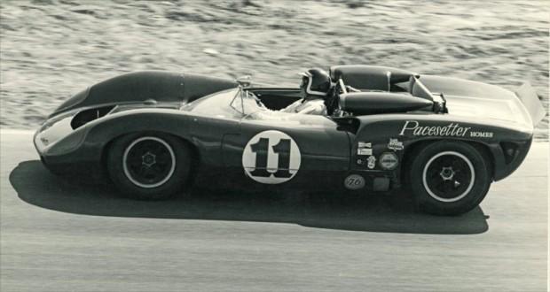 1965 Riverside 200, Bob Bondurant, Lola T70 Chevrolet