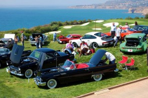 The Palos Verdes Concours golf course setting is spectacular.