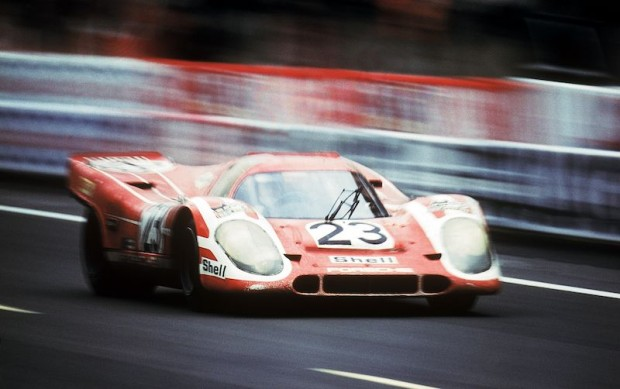 The 1970 Le Mans-winning Porsche 917 KH of Hans Herrmann and Richard Attwood