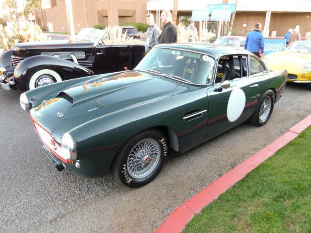 Aston Martin DB4 Series I Lightweight Race Car