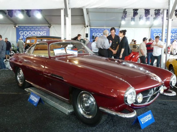 Fiat 8V Supersonic Coupe, Body by Ghia