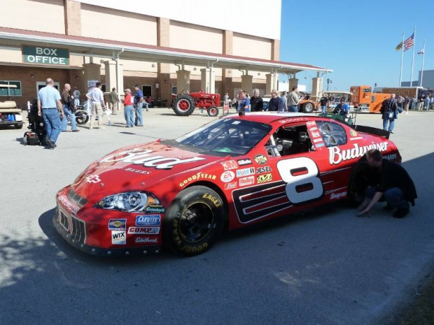 Chevrolet Budweiser #8 NASCAR Race Car