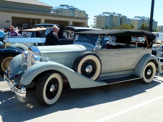 1934 Packard Eight Dual Cowl Sport Phaeton