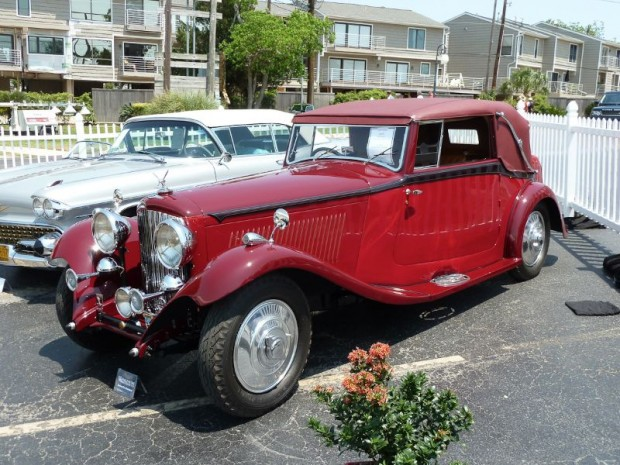 1934 Bentley 3 1/2 Liter Drop Head Coupe, Body by Park Ward