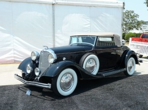 Lincoln KA Convertible Roadster at Houston Classic Auction