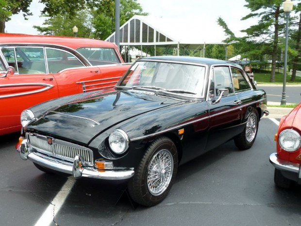 1969 MG C GT Coupe