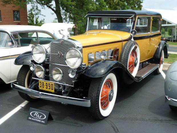 1930 Cadillac 452 V-16 Madame X Club Sedan