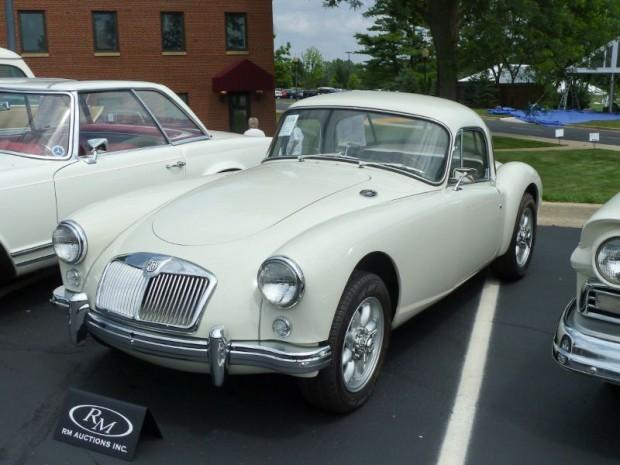 1957 MG A Coupe