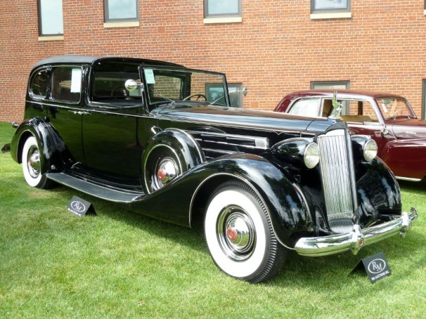 1937 Packard 1508 Twelve All-Weather Town Car