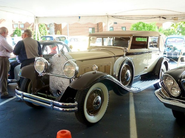 1931 Packard 840 Individual Custom Convertible Sedan, Body by Dietrich