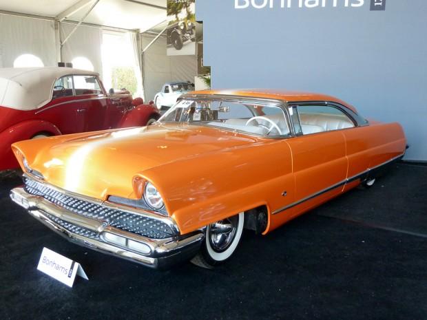 "1956 Lincoln Premiere ""Dreamsicle"" Custom"