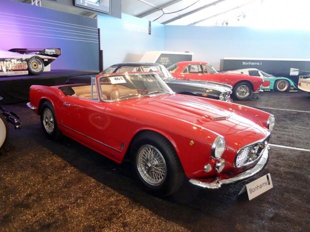1961 Maserati 3500 GT Spider, Body by Vignale