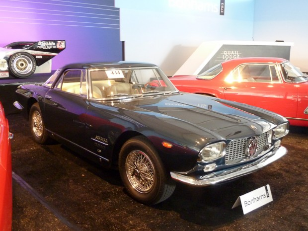 1962 Maserati 5000 GT Coupe, Body by Allemano