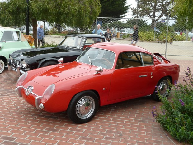 1959 Fiat Abarth 750 Coupe Double Bubble Zagato picture