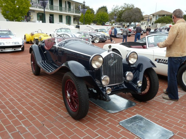 1932 Alfa Romeo 6C 1750 GS 5th Series Spider, Body by Zagato