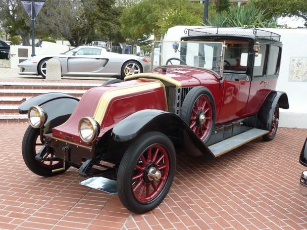 1921 Renault Type JP Model 45 Town Car, Body by Kellner