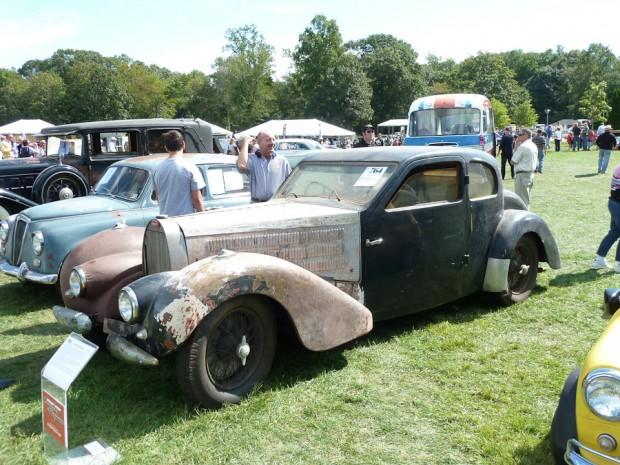 1938 Bugatti Type 57 Series 3 Ventoux Coupe barn find picture