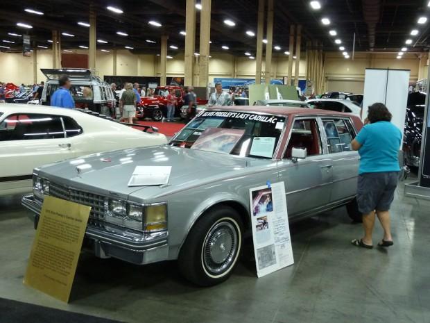 1976 Cadillac Seville 4-Dr. Sedan Elvis Presley