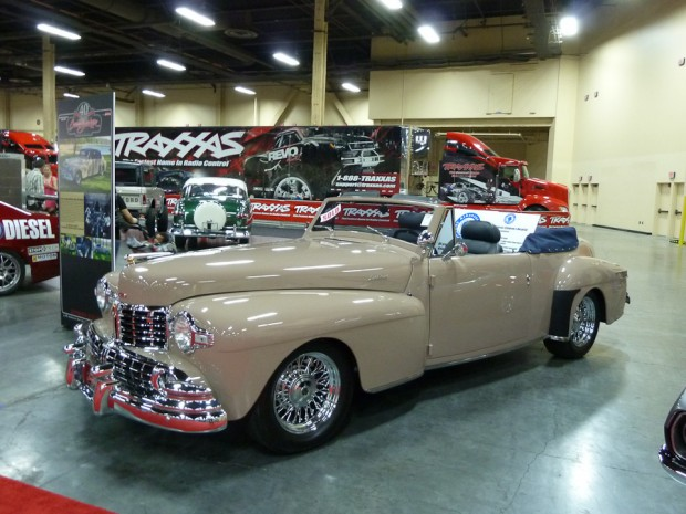 1948 Lincoln Continental Convertible Custom