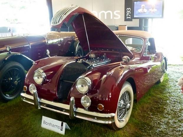 1955 Jaguar XK 140MC Drophead Coupe
