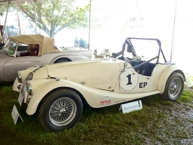 1962 Morgan Plus 4 Roadster Race Car