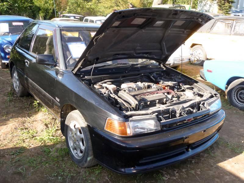 1988 Mazda 323 GTX Hatchback