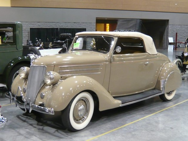 1936 Ford Model 68 Deluxe Convertible Coupe