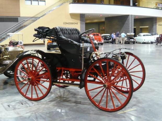 1900 Black Highwheeler