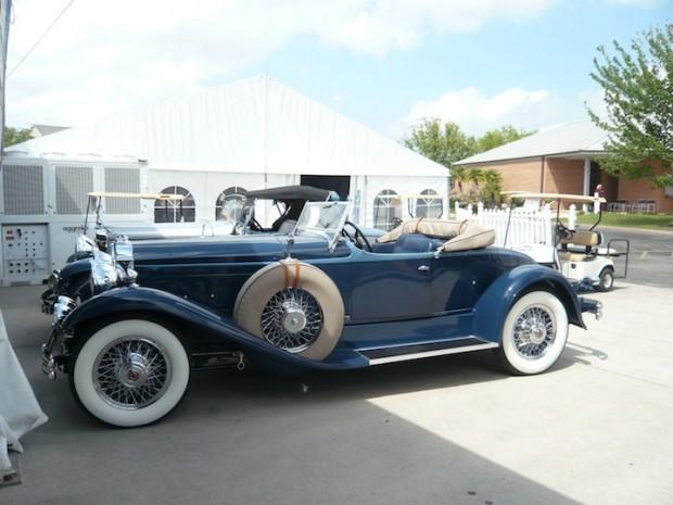 1930 Packard 734 Speedster Boattail Runabout