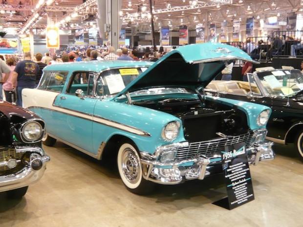 1956 Chevrolet Bel Air Nomad 2-Dr. Wagon