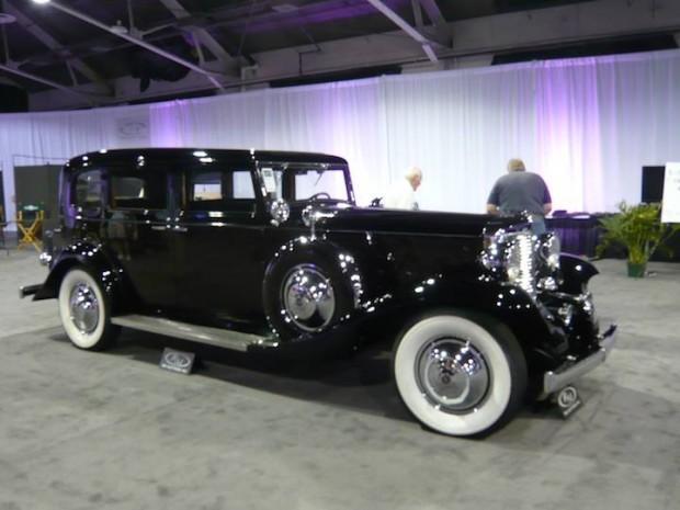 1931 Marmon Sixteen Limousine, Body by LeBaron