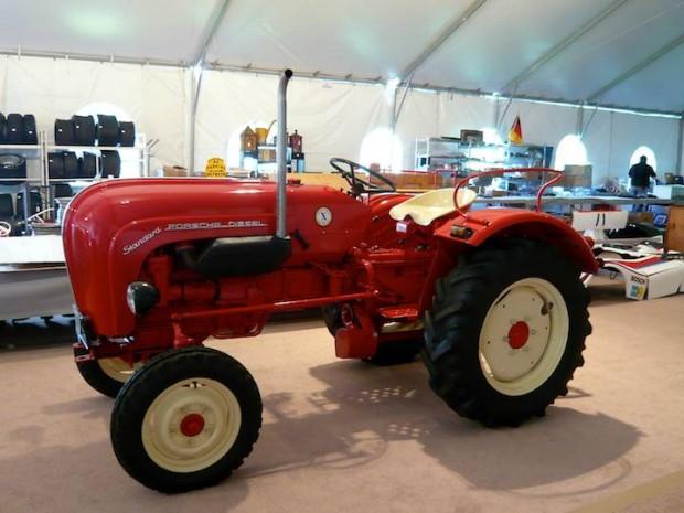 1963 Porsche Diesel Standard Model 217 Farm Tractor