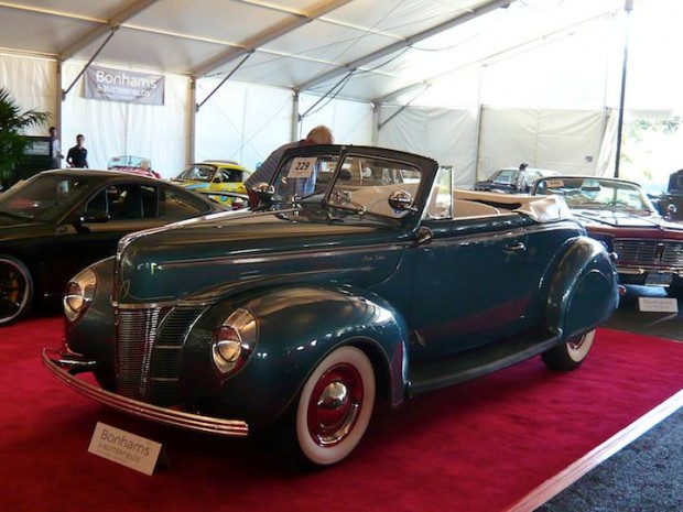 1940 Ford 11A Super Deluxe Convertible Coupe Convertible Coupe