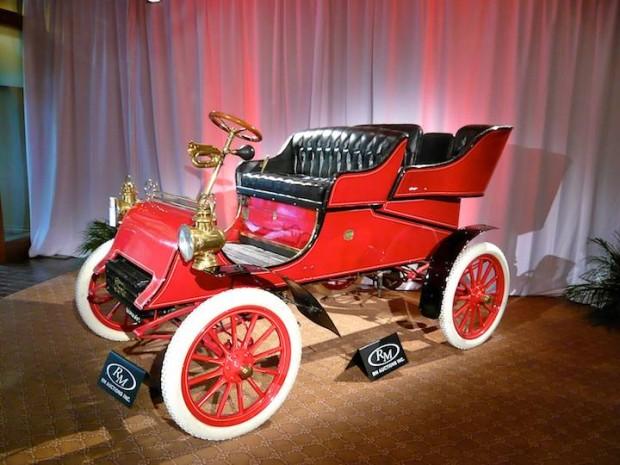 1903 Ford Model A Rear Entrance Tonneau