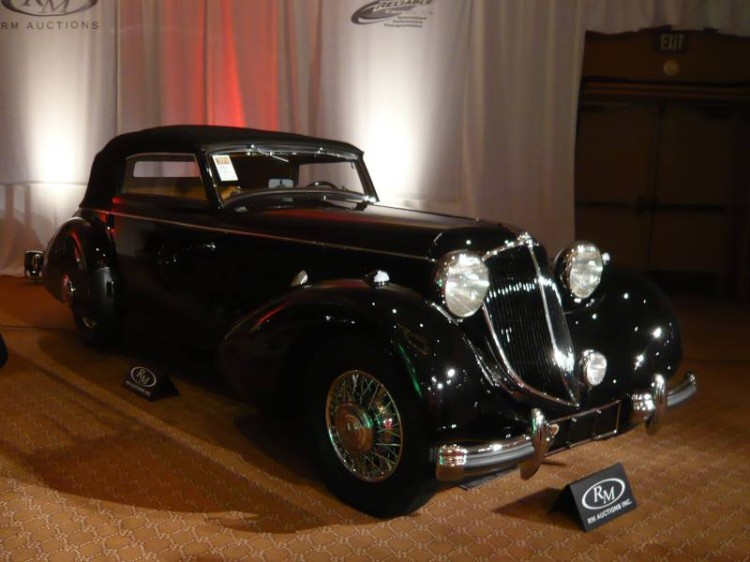 1936 Mercedes-Benz 540K Special Cabriolet