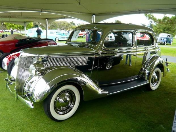 1936 Ford Deluxe 2-Dr. Sedan Stainless Steel