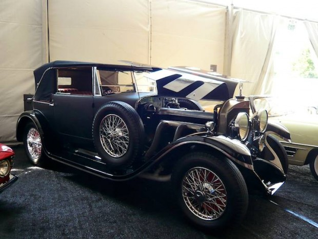 1927 Mercedes-Benz 630 Model K Short-Chassis Convertible