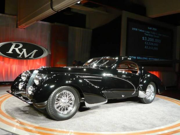 1938 Talbot-Lago T150-C Lago Special Coupe, Body by Figoni & Falaschi