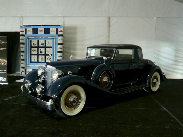 1934 Packard 1107 Twelve Coupe